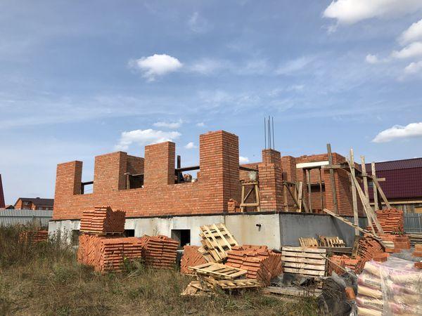 Дом из кирпича Рамнский р-н, д.Клишева